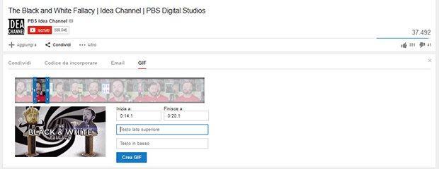 YouTube: in arrivo le GIF sulla piattaforma di Google? [BREAKING]
