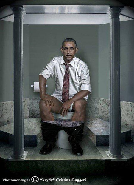Daily Duty: i più grandi leader del mondo ritratti alla toilette [INTERVISTA]