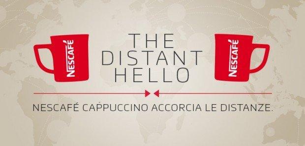 The Distant Hello: Nescafè corre in aiuto delle coppie a distanza