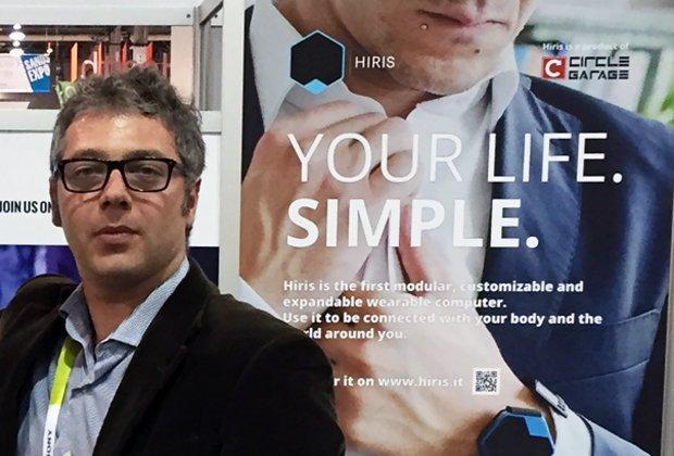 Il wearable computer Hiris: dal CES di Las Vegas al crowdfunding [INTERVISTA]