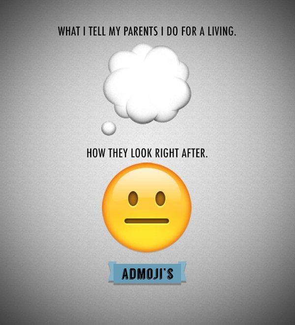 Admoji: ecco le emoji per ogni situazione d'agenzia creativa
