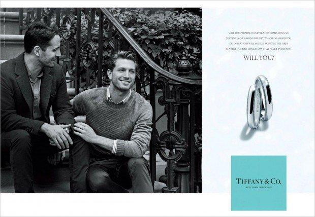 Con Will You, Tiffany & Co. dice sì alle unioni gay