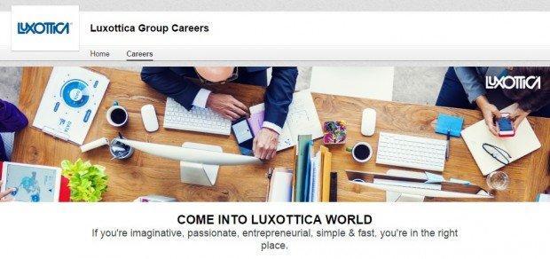 Luxottica Linkedin