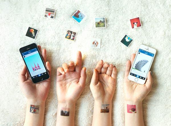 Picattoo trasforma gli scatti Instagram in sfiziosi temporary tattoo