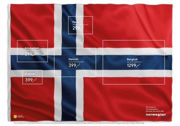 Bandiere, crema e maquette: i migliori annunci stampa della settimana