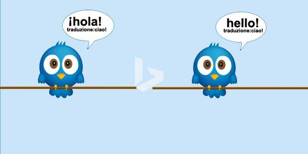 Traduci i tweet in tempo reale con un click