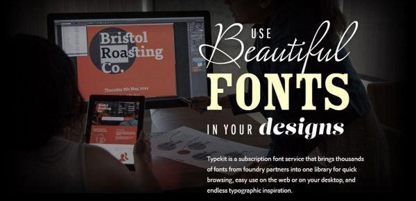 Webfonts: la tipografia di un sito migliora con Google e Typekit