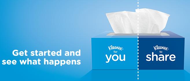 Kleenex Care e il Viral Marketing della condivisione, in tutti i sensi