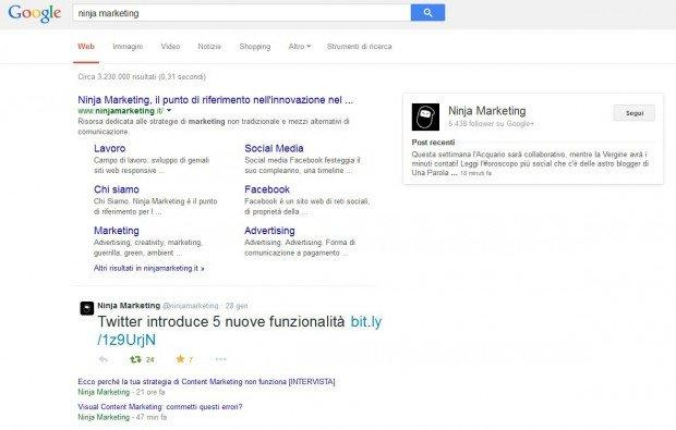 Accordo tra Twitter e Google: a breve i tweet nella SERP [BREAKING NEWS]