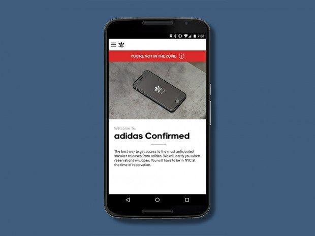 Con l'app Adidas Confirmed prenoti le tue sneakers limited edition