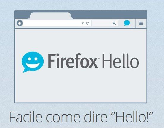 Firefox Hello introduce le videochiamate via browser