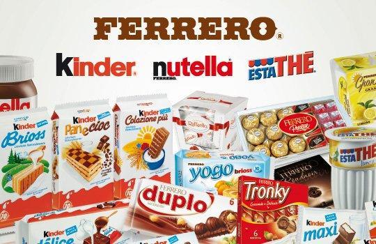 Le 5 campagne Ferrero che non dimenticheremo mai
