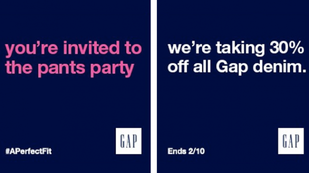 Il guerrilla marketing di GAP contro Tinder