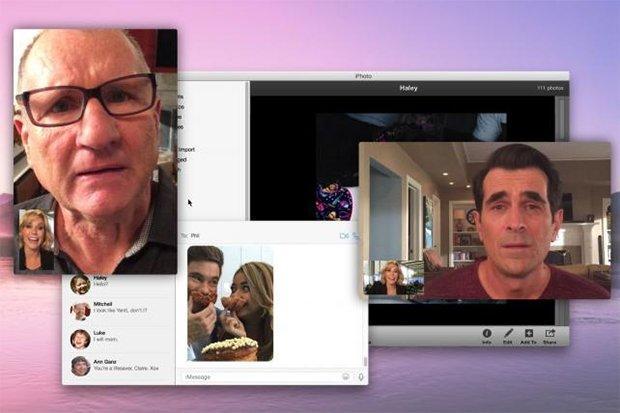 "Modern Family: un episodio girato interamente ""dentro"" iPhone e iPad"