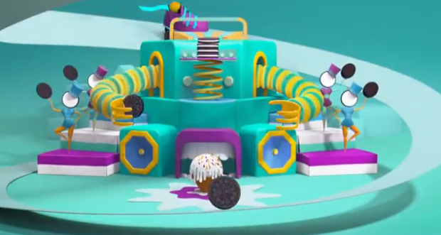 """Play with Oreo"": la campagna che si ispira a Willy Wonka"