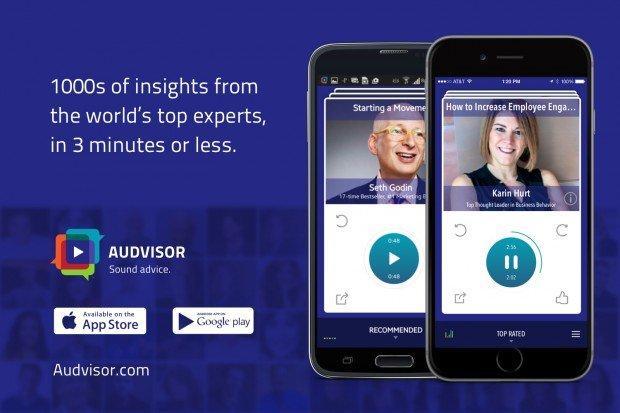 I consigli dai migliori esperti grazie all'app Audvisor