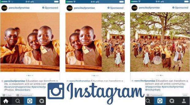Instagram e lo storytelling sponsorizzato: arrivano i Carousel Ads