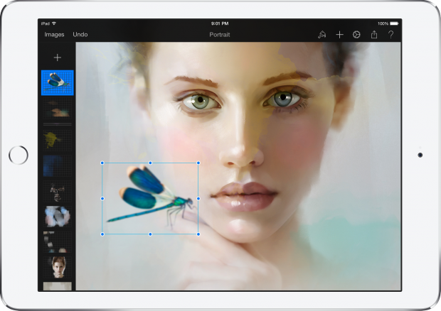 App of the Week: Pixelmator trasforma il tuo iPad in una tela d'artista