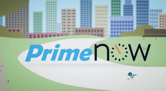Amazon Prime Now: la consegna in un'ora è realtà