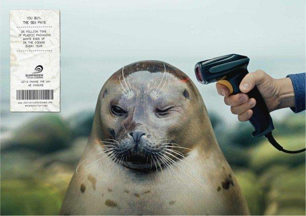 Surfrider Foundation: Barcode scanner