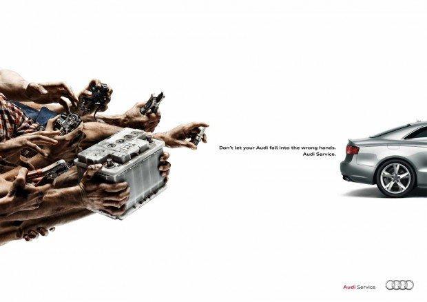 Audi: Battery/Brake