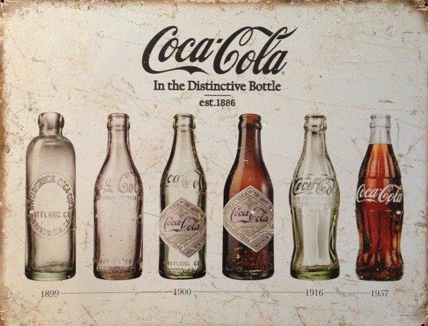 La bottiglia Coca Cola: un'opera d'arte che compie cent'anni