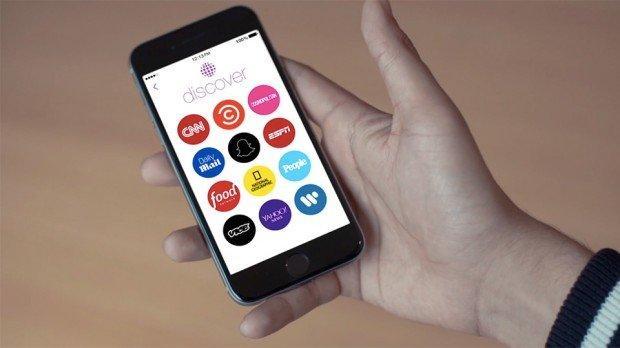 Discover: il nuovo servizio per le breaking news su Snapchat