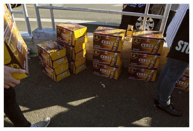 Non chiamatelo pesce d'aprile: Ceres offre davvero una birra agli operai Expo