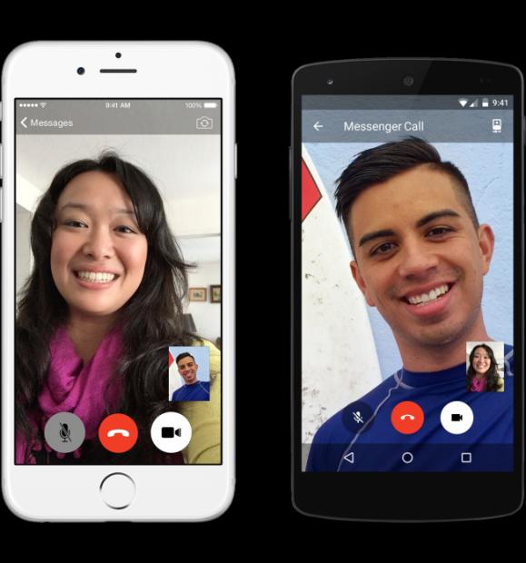 Facebook Messenger lancia le videochiamate