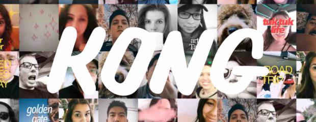 La selfie-mania diventa una GIF animata con l'app Kong
