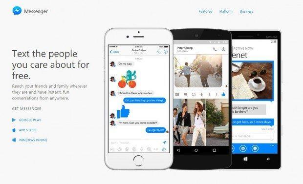 Messenger su desktop: Facebook lancia il sito dedicato alla chat