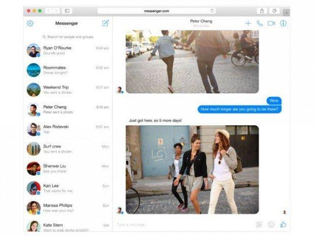 Messenger su desktop: Facebook lancia il sito per la sua chat