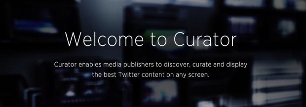 Twitter lancia la sfida a Storify con Curator