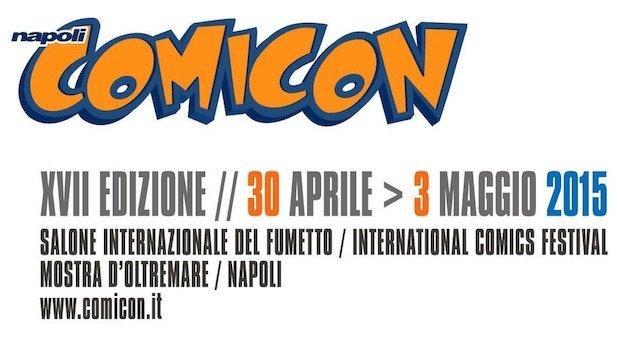 Comicon Napoli 2015: 5 cose da non perdere