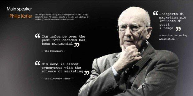 Philip Kotler Marketing Forum: il programma [EVENTO]