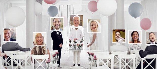 Ti sposeresti via webcam? IKEA ci ha pensato [VIDEO]
