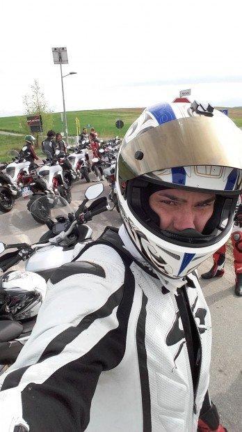 Un Ninja prova la nuova Ducati Multistrada 1200