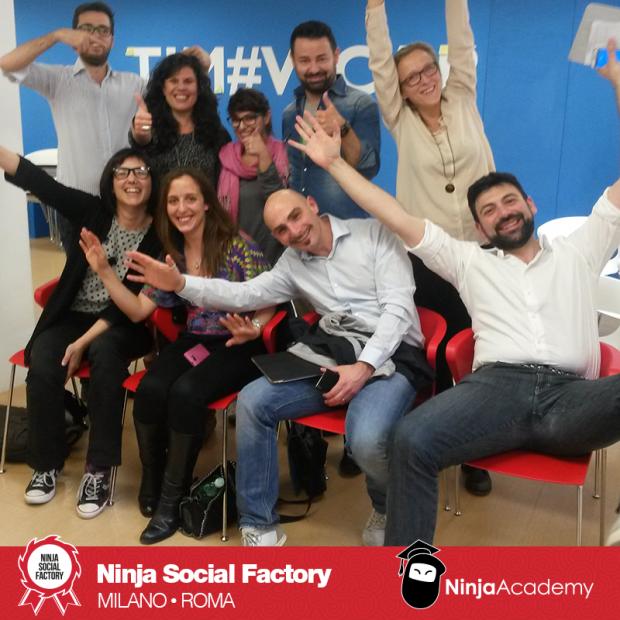 Ninja Social Factory volume II: Milano e Roma si raccontano