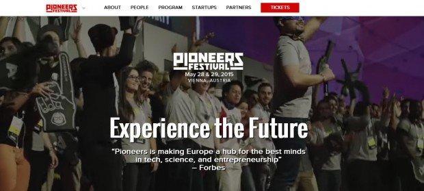 Vivi il futuro al Pioneers Festival 2015 [EVENTO]