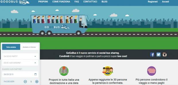 Gogobus bus sharing economy