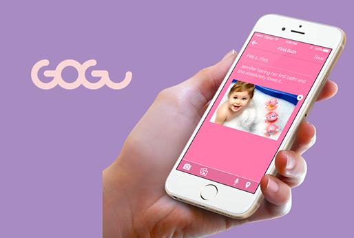 App of the week: Gogu, il diario dei ricordi del tuo bambino su app