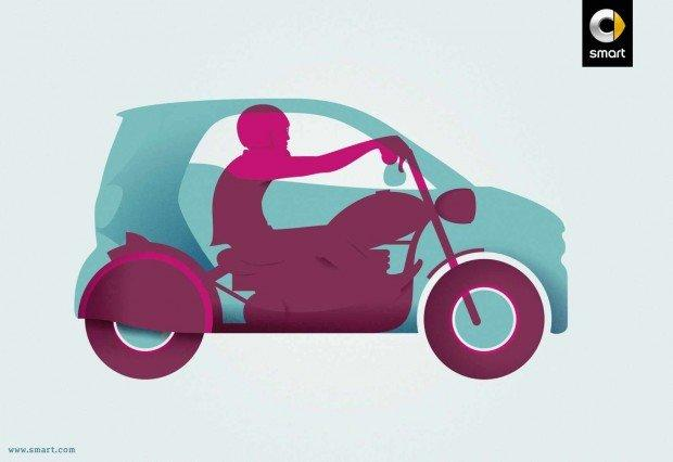 Moto, pagliacci e airbag: i migliori annunci stampa della settimana