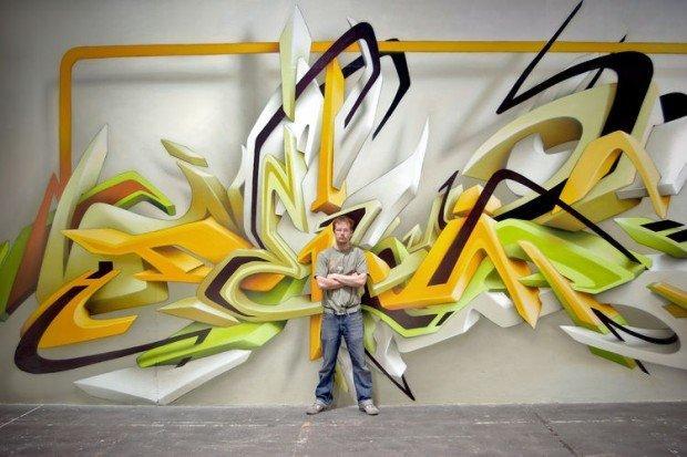 Con DAIM la street art acquista volume e riposa tra due guanciali