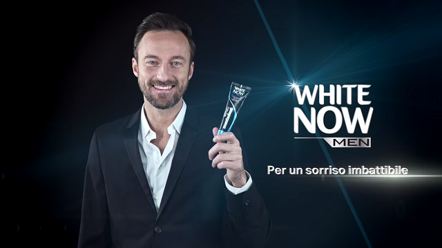 Mentadent White Now Men: Unilever e il dentifricio per uomini