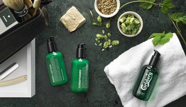Carlsberg e la sua nuova linea di beauty care per uomo