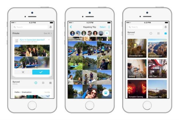 Facebook: arriva Moments, l'app per organizzare i propri ricordi [UPDATE]