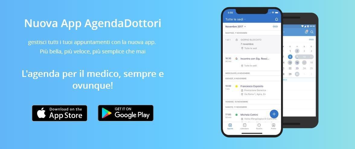 Arriva l'app AgendaDottori e la sanità diventa 2.0