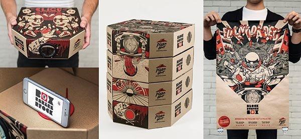 Pizza Hut proiettore