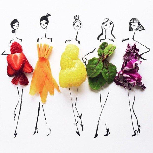 Dress Sketches Food, il progetto che unisce food e fashion