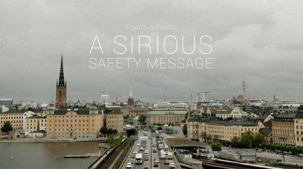 Toyota e la nuova campagna per una guida sicura